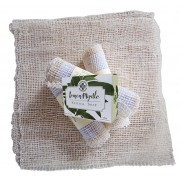Agave Wash Cloth with Lemon Myrtle Soap