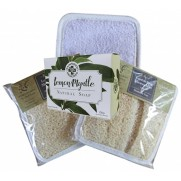 Loofah Spa Shower Mitt with Lemon Myrtle Soap