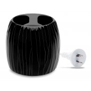 Soy Wax Melt Electric Warmer - Black Pearl