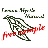 Lemon Myrtle Free Sample Soap (pay only $2 p&h)