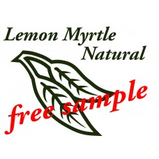 Lemon Myrtle Free natural Sample Soap (pay only $2 p&h)