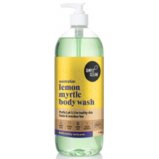 Lemon Myrtle Body Wash (1 Litre Pump)