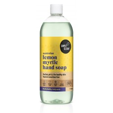 Lemon Myrtle Hand Soap (1 Litre)