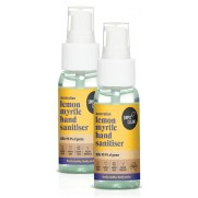 Lemon Myrtle Hand Sanitiser Twin Travel Pack (2 x 50mL)