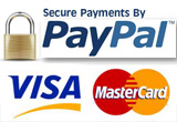 Payment methods - secured by PayPal