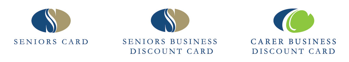 Seniors, Business, Carers cards